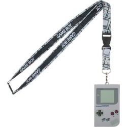 Nintendo Gameboy Lanyard with Rubber ID Holder found on GamingScroll.com from entertainmentearth.com for $7.99