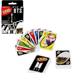 BTS Uno Game found on GamingScroll.com from entertainmentearth.com for $5.99