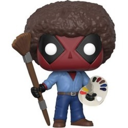 Deadpool Playtime Bob Ross Pop! Vinyl Figure found on Bargain Bro India from entertainmentearth.com for $10.99