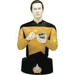 Star Trek Bust Collection Data with Collector Magazine #4