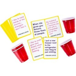 Straight Face Drinking Game found on GamingScroll.com from entertainmentearth.com for $9.99