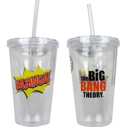 The Big Bang Theory Bazinga Travel Cup found on Bargain Bro India from entertainmentearth.com for $9.99