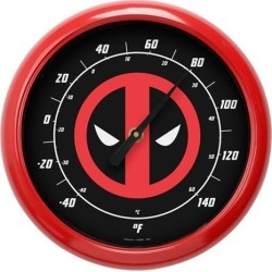 Deadpool Logo 10-Inch Thermometer found on Bargain Bro India from entertainmentearth.com for $24.99