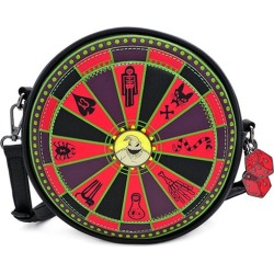 Nightmare Before Christmas Oogie Boogie Wheel Crossbody Bag