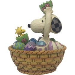 Peanuts Snoopy and Woodstock Easter Basket Jim Shore Statue found on Bargain Bro India from entertainmentearth.com for $49.99