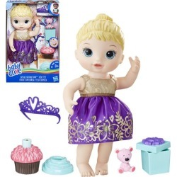 BEST BUY Baby Alive Cupcake Birthday Blonde Baby Doll