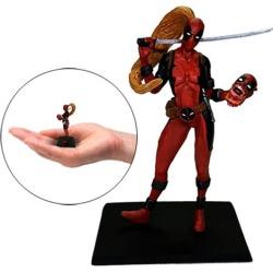 Deadpool Lady Deadpool Metal Miniature Mini-Figure found on Bargain Bro India from entertainmentearth.com for $39.99