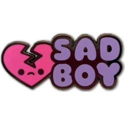 Sad Boy Pin found on GamingScroll.com from entertainmentearth.com for $8.00