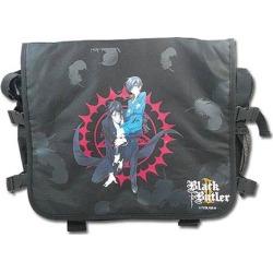 Black Butler 2 Sebastian and Ciel Black Messenger Bag
