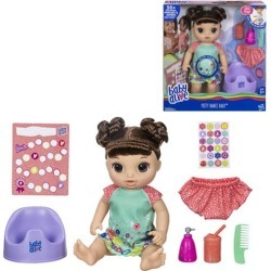 DISCOUNT Baby Alive Potty Dance Baby Doll – Brown Curly Hair