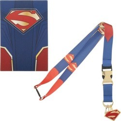 Superman Suit-Up Lanyard found on GamingScroll.com from entertainmentearth.com for $8.99