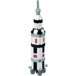 Saturn V Rocket Nanoblock Constructible Figure found on Bargain Bro India from entertainmentearth.com for $19.99
