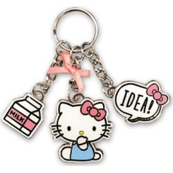 Hello Kitty with Idea Metal Multi-Charm Key Chain found on GamingScroll.com from entertainmentearth.com for $9.99
