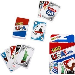 USA UNO Card Game