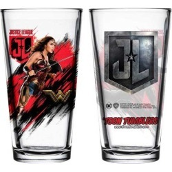 Justice League Movie Wonder Woman Toon Tumbler Pint Glass found on Bargain Bro India from entertainmentearth.com for $9.99