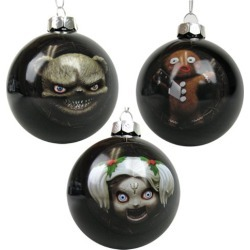 Krampus Beelze-Baubles Set 2 3-Pack