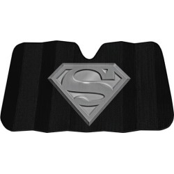 Superman Black Matte Sunshade found on Bargain Bro from entertainmentearth.com for USD $13.67