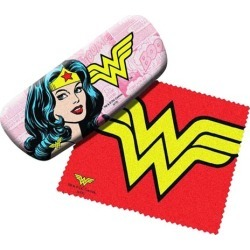 Wonder Woman Eyeglasses Case with Cleaning Cloth found on GamingScroll.com from entertainmentearth.com for $9.99