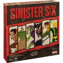 Marvel Sinister Six Spider-Man Villains Heist Card Game