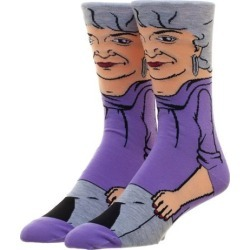 Golden Girls Dorothy 360 Character Socks
