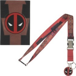 Deadpool Suit-Up Lanyard found on GamingScroll.com from entertainmentearth.com for $8.99
