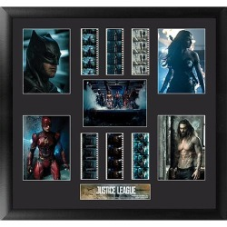 Justice League Series 1 Montage Film Cell found on Bargain Bro India from entertainmentearth.com for $189.99