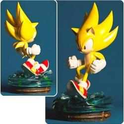 Sonic the Hedgehog Modern Super Sonic Statue
