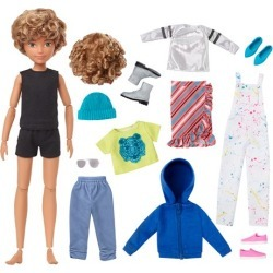 Creatable World Deluxe Character Kit DC-220 Doll