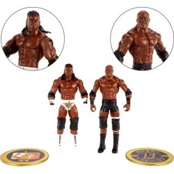 WWE Showdown S2 Bobby Lashley vs King Booker Fig 2-Pack found on GamingScroll.com from entertainmentearth.com for $21.99