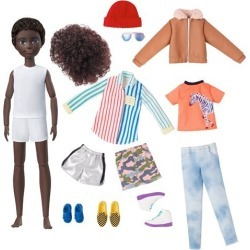 Creatable World Deluxe Character Kit DC-319 Doll