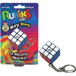 Rubik's Cube Key Chain