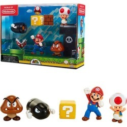 World of Nintendo 2 1/2-Inch Acorn Plains Figure Set