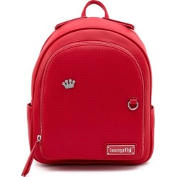 Loungefly Red Pin Trader Mini-Backpack