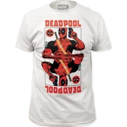 Deadpool Wild Card White T-Shirt found on Bargain Bro India from entertainmentearth.com for $19.99