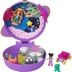 Polly Pocket Saturn Space Explorer Compact found on Bargain Bro from entertainmentearth.com for USD $11.39