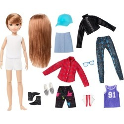 Creatable World Deluxe Character Kit DC-619 Doll