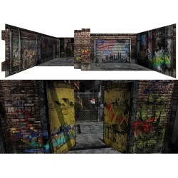 Deranged Alley 2.0 Pop-Up 1:12 Scale Diorama found on GamingScroll.com from entertainmentearth.com for $44.99