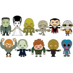 Universal Monsters Figural Key Chain Display Case