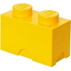 LEGO Bright Yellow Storage Brick 2