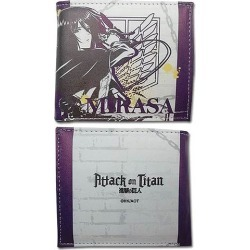 Attack on Titan Mikasa Boy Wallet found on Bargain Bro Philippines from entertainmentearth.com for $19.99