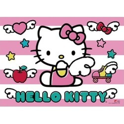 Hello Kitty Pink Angel Wall Scroll found on Bargain Bro Philippines from entertainmentearth.com for $19.99