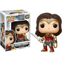 Justice League Movie Wonder Woman Pop! Vinyl Figure found on Bargain Bro India from entertainmentearth.com for $10.99