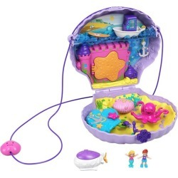 Polly Pocket Tiny Power Seashell Purse Compact found on Bargain Bro from entertainmentearth.com for USD $15.19