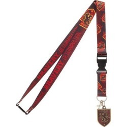 Harry Potter Gryffindor Lanyard found on GamingScroll.com from entertainmentearth.com for $6.99
