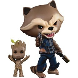 GotG Vol.2 Rocket with Baby Groot EA Action Figure - PX