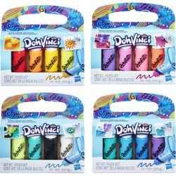 Play-Doh DohVinci 4-Pack Drawing Compound Wave 1 Case