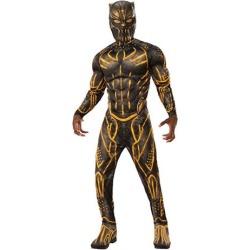 Black Panther Erik Kilmonger Deluxe Battle Suit Costume