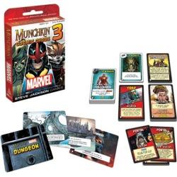 Marvel Munchkin #3 Cosmic Chaos Game
