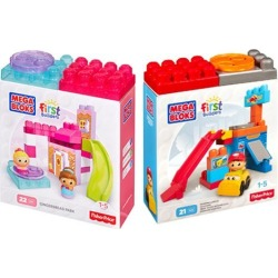 Mega Bloks First Builders Spin and Play Set Case