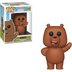 We Bare Bears Grizz Pop! Vinyl Figure #549 found on Bargain Bro India from entertainmentearth.com for $10.99
